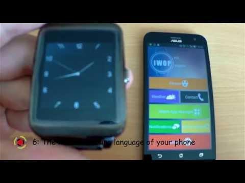 I95 Smartwatch | How to change language | TUTORIAL