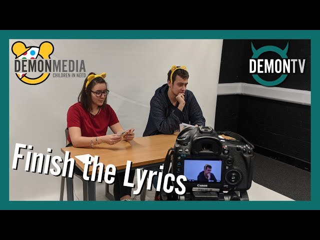 Finish the Lyrics | Children In Need 2019