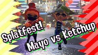 Splatfest - Mayo vs Ketchup - [Splatoon 2]