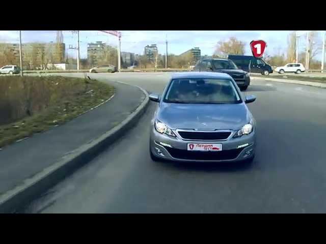 """""""Первый тест"""" тест-драйв Peugeot 308 2015"""