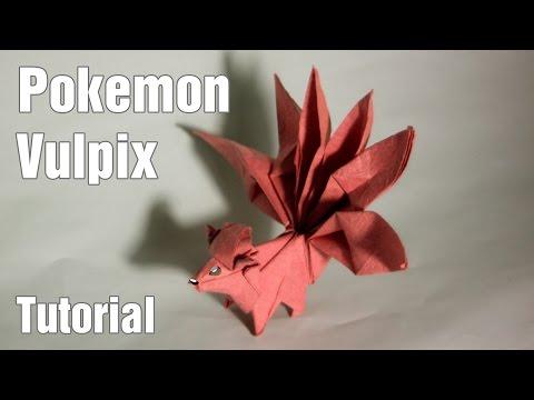 Paper Pokemon - Origami Vulpix Tutorial (Henry Phạm) - YouTube