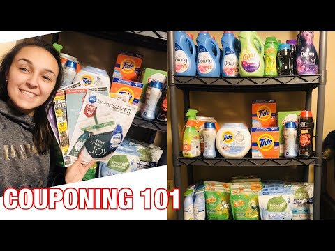 HOW TO START COUPONING IN 2020, COUPONING 101 (Beginners)