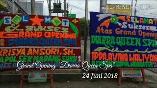 Grand Opening of Diarra Queen Spa in Lampung