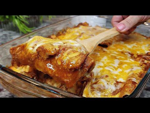 CHICKEN ENCHILADAS | Tex Mex Enchiladas Made Easy | ENCHILADA SAUCE RECIPE