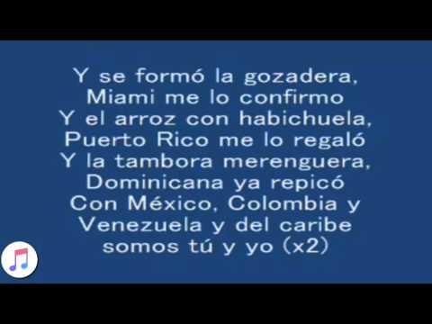 La Gozadera Gente de Zona ft  Marc Anthony [LYRICS/LETRA]