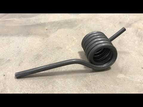 How to make a torsion spring