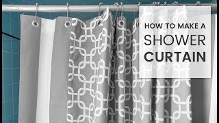 How to Make a Shower Curtain