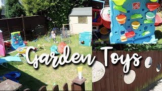 Garden Tour Best Toys For Under 5's - Childminders Inhome Childcare Outside Playroom - A Childmindin