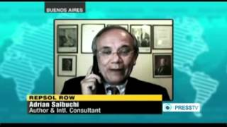 Interview/Panel Discussion on Nationalization of YPF - Press TV 19-April-2012