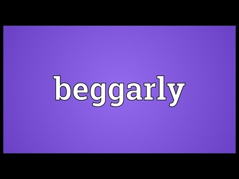 Header of beggarly