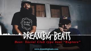 "Social club type beat -  Social Club Misfits   ""Rapture"" | Hard trap instrumental 2016/2017"