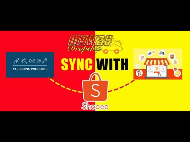 Tutorial Mendaftar Sistem Dropship Sync with Shopee MyWau