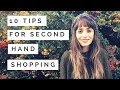 HOW TO SHOP SECOND HAND - 10 TIPS TO FIND THE BEST BIT & COME SHOPPING WITH ME I MAMALINA