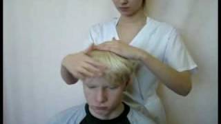 Массаж головы (head massage)