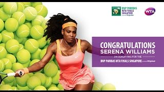 Serena Williams Qualifies For 2016 WTA Finals