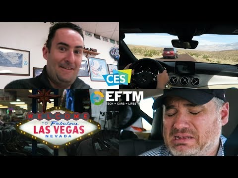 """""""Oxygen and Dreams"""" - The Road Trip to Vegas - CES 2018 Vlog 2 thanks to Vodafone $5 a day roaming."""