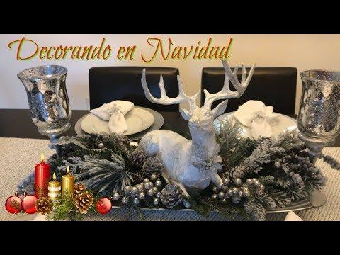 Decoracion de navidad ideas como decorar la mesa del - Como decorar la mesa de navidad ...