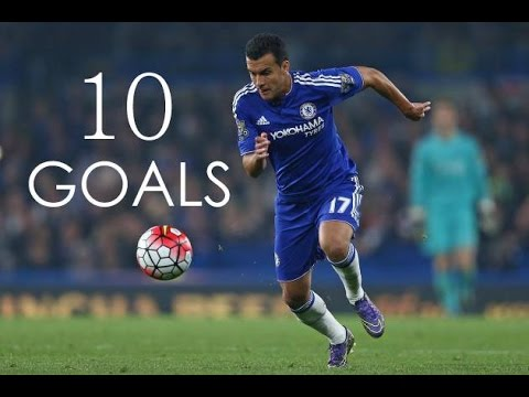 Pedro Rodríguez - First 10 Goals For Chelsea FC - HD