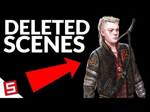 Deleted Scenes! TWD Season 4 Episode 1 - Telltale's The Walking Dead Final Season 4 Episode 2 |