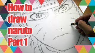 How To Draw Naruto Hokage - part 1