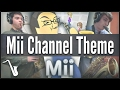 Nintendo Wii - Mii Channel Theme - Jazz Cover || insaneintherainmusic (feat. Gabe N. & Chris A.)
