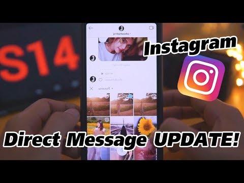 Instagram Direct Message (ลูกเล่นใหม่ในกล่องข้อความ IG)
