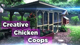 105 Creative Chicken Coops You Need In Your Backyard - Chicken Yard Ideas - Chicken coops