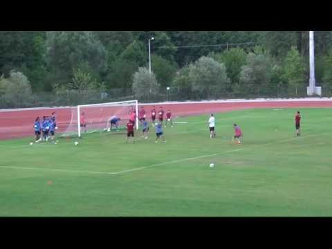 Soccer Conditioning funny game