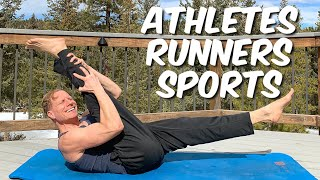 Pilates for Sports, Runners & Athletes - 30 Min Full Body Workout