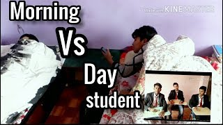 Morning vs Day | science vs management stud | Science vs commerce by Nepal vines | Nepal vines