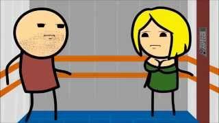 Знаменитый Секс В Лифте. Его Частная Версия - Мультфильм Для Взрослых