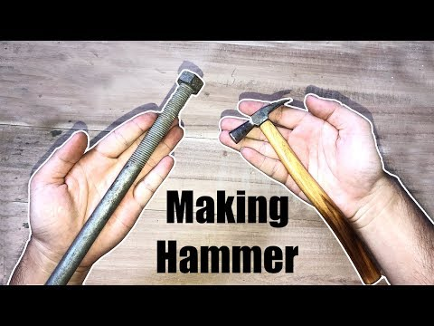 Restore and transform Crew Rusty To Mini Hammer| Making Hammer DIY Restoration