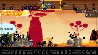 Patapon 3 Walkthrough pt 45:  Dark Heroes' Last Stand