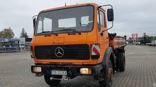 Samochód ciężarowy MERCEDES - Benz 1617 - wywrotka rok 1986 - zobacz warto