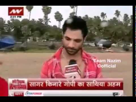 """Nazim in interview talking about his album """"Jeona Maur"""" NewsNation 17th June 2015"""
