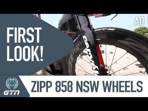 NEW Zipp 858 NSW Wheels | GTN's First Look