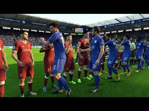Leicester City vs Liverpool - FIFA18 EPL Simulation Match 09/23/2017 - 1080p/60FPS