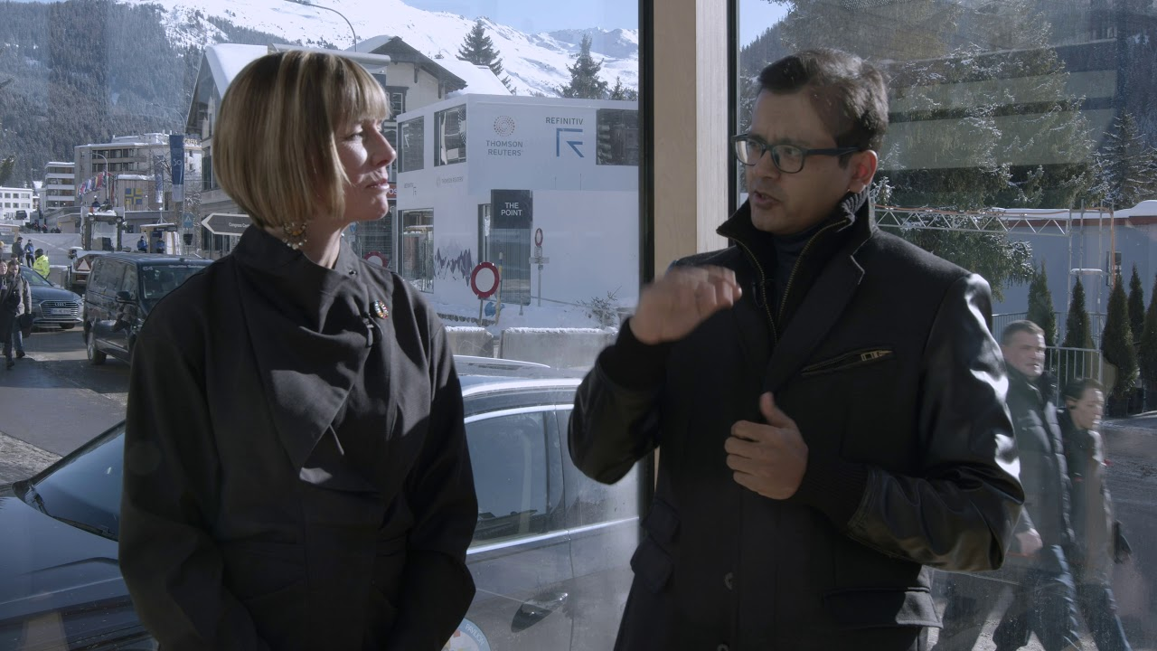 Hub Culture Davos 2020: Prof. Lutfey Siddiqi, London School of Economics