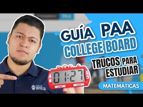 Guía PAA Resuelta ¡Comienza aquí! College board TRUCOS / UDG / BUAP /  ITESM / ITAM / Cetys