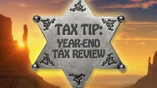 Tax Tip: Year-End Tax Review