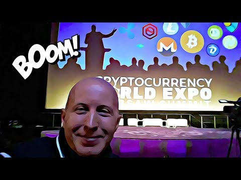 Visiting CryptoCurrency World Expo in Warsaw 2017 | Price Of Bitcoin in 2018 | ICOExpert Challenge