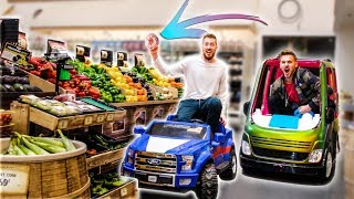 TOY CARS SHOPPING IN STORES!