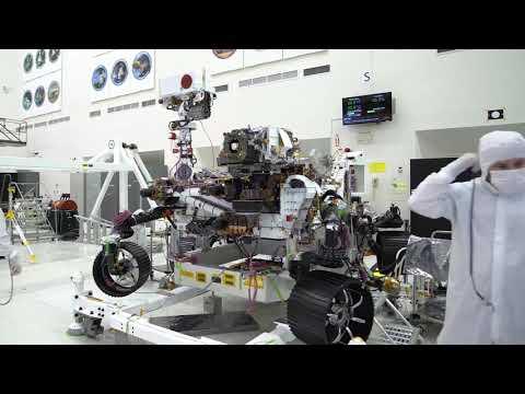 NASA Tests Mars 2020 Robotic Arm With 'Biceps Curls'