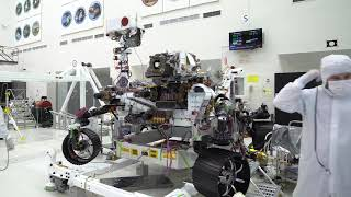 NASA's Mars 2020 Rover Does Biceps Curls (Arm Testing Time Lapse)