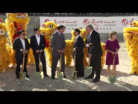 Genting Group and Nevada Dignitaries Breaking Ground for Resorts World Las Vegas