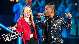 "Alicja Śmielak i Jay Allen - ""Come And Get It"" - Bitwy - The Voice of Poland 9"