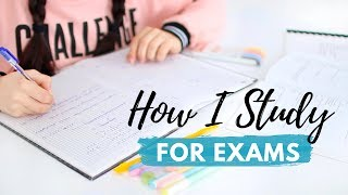 How I Study for Exams | Study Plan, Revision Methods & Exam Tips