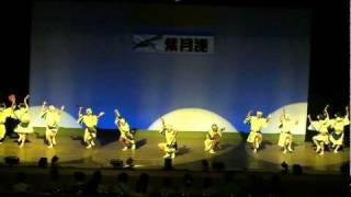 葉月連@徳島市立文化センター ~2010.8.15  徳島市選抜阿波踊り大会~