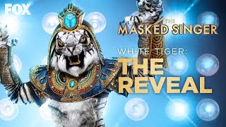 White Tiger Is Revealed As Rob Gronkowski | Season 3 Ep. 10 | THE MASKED SINGER
