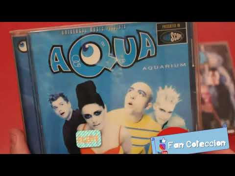 AQUA - CDS COLLECTION - (1997- 2018) - REVIEW - UNBOXING